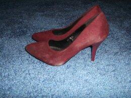 Туфли - Туфли красные, 36 размера, 0