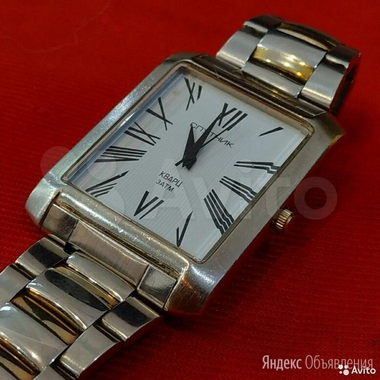 """Часы """"Спутник"""" Кварц 996113 по цене 900₽ - Наручные часы, фото 0"""