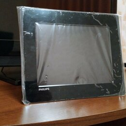 Цифровые фоторамки и фотоальбомы - Philips Digital Photo Frame SPF1208/10 (цифровая фоторамка), 0