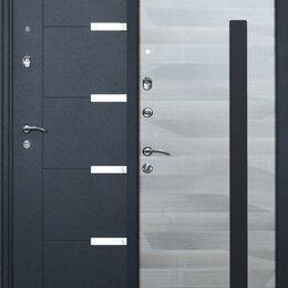 Входные двери - Дверь мет «ОЛИМП» Графит металл/Кашемир Л/2050*860, 0