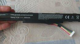 Аксессуары и запчасти для ноутбуков - Аккумулятор Acer AS16A5K,A7K,A8K 14.8V 2600mAh, 0