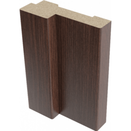 Дверные коробки - Коробка стойка ламинация венге 26х70х2070мм, 0