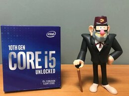 Процессоры (CPU) - Процессор Intel Core i5-10600K BOX 10th Gen 6 Core, 0