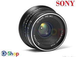 Объективы - Объектив 7Artisans 25 mm F1.8 Sony E, 0