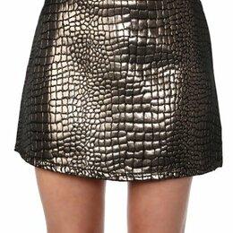 Юбки - Ультра-мини юбка марки EVA & LOLA абсолютно новая, с биркой, 0