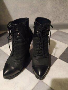 Ботинки - Красивые ботинки из натуральной кожи, 0