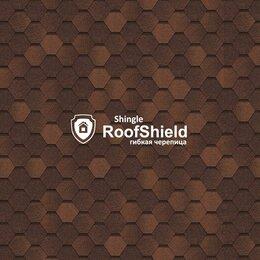 Кровля и водосток - Гибкая черепица RoofShield фемили Эко лайт окисленный битум , 0