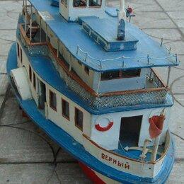 Модели - Двухпалубный колёсный пассажирский речной пароход. Верный, 0