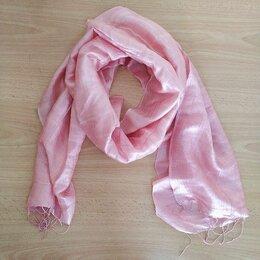 Шарфы, платки и воротники - Легкий розовый шарфик, 0