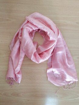 Шарфы и платки - Легкий розовый шарфик, 0