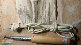 Электрические паяльники - Паяльник ПД 220В 80Вт деревянная ручка, 0