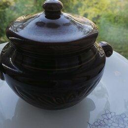 Наборы посуды для готовки - Горшочек для запекания керамика , 0