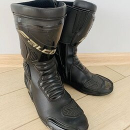 Мотоэкипировка - Ботинки для мотоцикла мужские 42 размер, 0