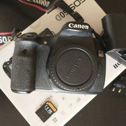 Фотоаппараты - Canon 60d body, пробег затвора 3000, 0