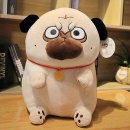 Мягкие игрушки - Мягкая игрушка пёс Bazahey 40 см, 0