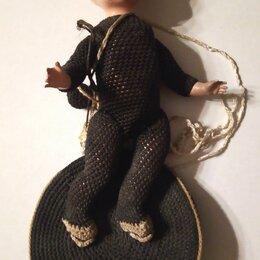 """Куклы и пупсы - Игрушка-кукла """"Акробат на батуте"""", целлулоид , 0"""