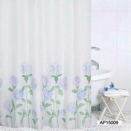 Шторы и карнизы - Сантехторг Шторка для ванной Сантехторг Hydrangea (Гортензия) ch15009 180х200, 0