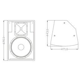 Акустические системы - FDB Audio FT15II Акустическая система пассивная, 40Гц - 20кГц, 300 Вт (RMS),..., 0