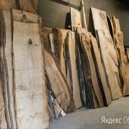 Массивная доска -  Слэбы из дерева: дуб, карагач, лиственница, ясень, 0