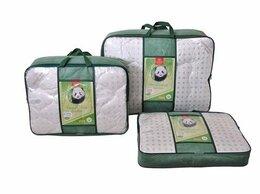 Одеяла - Одеяло бамбук Евро-мини пл. 300 гр. тик/сатин…, 0
