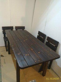 Комплекты садовой мебели - Стол , стул для дачи., 0