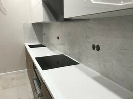Мебель для кухни - Столешница Corian с кухонным фартуком из камня…, 0