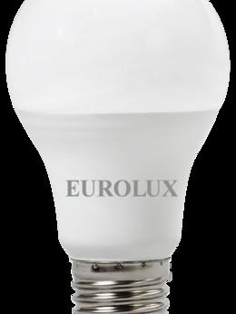 Лампочки - Лампа св/д Eurolux 13Вт,нейтр.,Е27 груша, 0