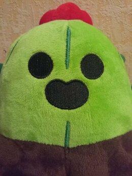 Мягкие игрушки - Spike brawl stars, 0