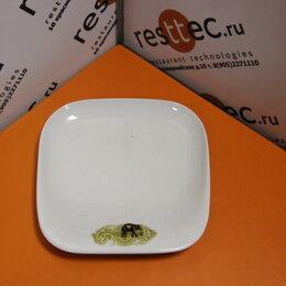 Одноразовая посуда - Тарелка трапециевидная со слоном Kahla L=22,5, B=21,5/20см (003058), 0