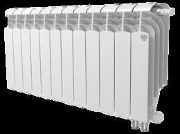 Радиаторы - Радиатор биметал ниж/подкл Royal 500-12 секций, 0