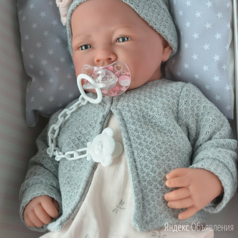 Кукла Nacida Gris от Antonio Juan по цене 5800₽ - Куклы и пупсы, фото 0