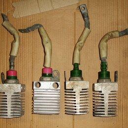 Радиодетали и электронные компоненты - Диод силовой выпрямительный с радиатором В200-13, 0