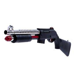 Игрушечное оружие и бластеры - Дробовик «Терминатор», стреляет мягкими и гелевыми пулями, 0