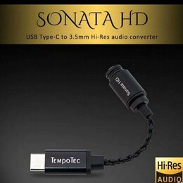 Цифро-аналоговые преобразователи - TempoTec Sonata HD - ЦАП для смартфона, 0