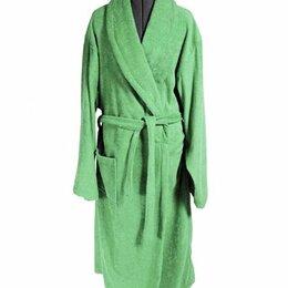 Домашняя одежда - Халат женский махровый, шалька ЭЛИТ Мятный размер 54, 0