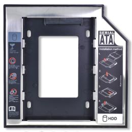 Оптические приводы - Салазки (Optibay) для установки HDD вместо дисковода 12.7мм, 0