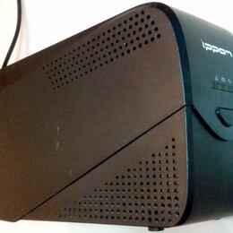 Источники бесперебойного питания, сетевые фильтры - Бесперебойник 600VA Ippon Back Comfo Pro 600, 0