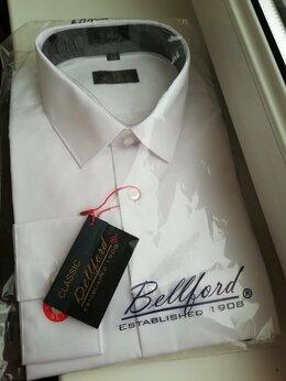 Рубашки - Новая классическая белая мужская рубашка , 0