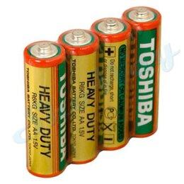 Батарейки - Батарейка Toshiba Heavy Duty AA R06 1шт., 0