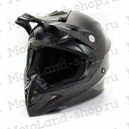 Мотоэкипировка - Шлем мото HIZER (Хайзер) 615 (M) #2 matt black, 0