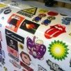 Печать наклеек и стикеров по цене 50₽ - Интерьерные наклейки, фото 2