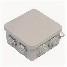 Электроустановочные изделия - Коробка распаячная Greenel 100х100х50мм IP44, 0