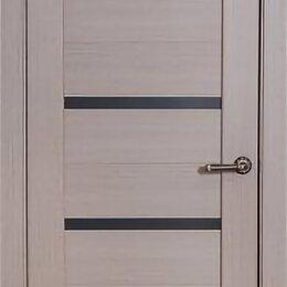 Межкомнатные двери - Дверь 80см ДО «Биланчино» капучино ПВХ, 0