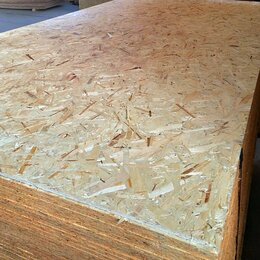 Древесно-плитные материалы - OSB-3, толщина 18 мм, 1250х2500, 0