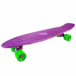 Скейтборды и лонгборды - Круизер Tech Team Classic 27 pink, 0
