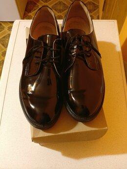 Туфли - Лабутены (туфли) военные лаковые 44 размер, 0