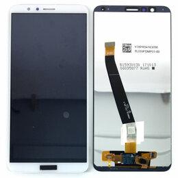 Дисплеи и тачскрины - Дисплей для Huawei Honor 7X (BND-L21) белый, 0