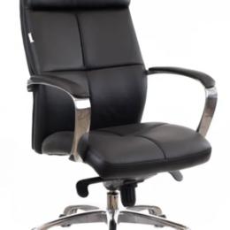 Компьютерные кресла - Офисное кресло Premium класса - Madrid Экокожа Черный, 0