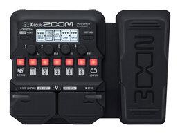Процессоры и педали эффектов - Zoom G1X FOUR Процессор гитарных мультиэффектов…, 0