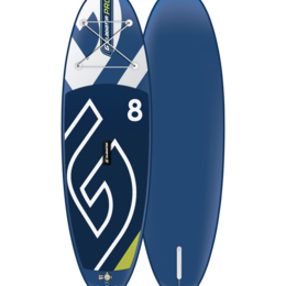 Водные лыжи, вейкбординг и книбординг - Надувная доска для sup - бординга Gladiator (Гладиатор) PRO 8.0, 0